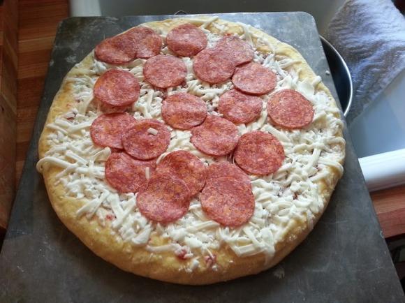 Freschetta Signature Pepperoni Pizza - Photo by Mike Bonfanti