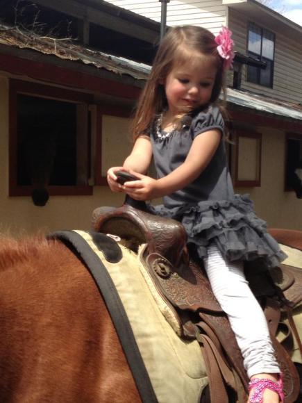 Julies on Horseback