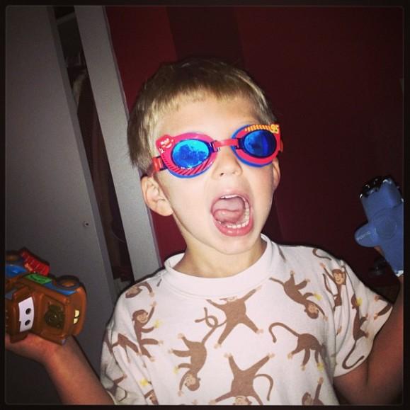 Mason ready to swim