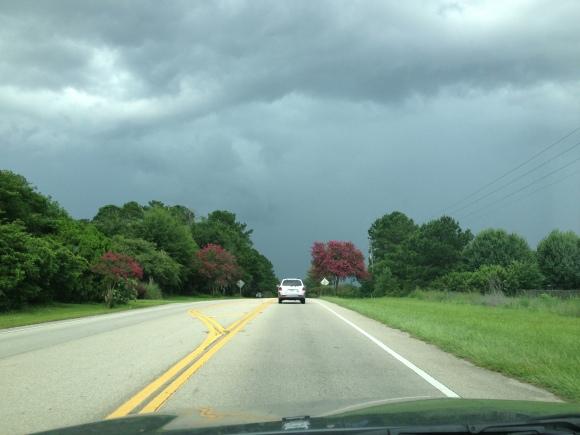 US 90 W near Crump Road - Photo by Mike Bonfanti